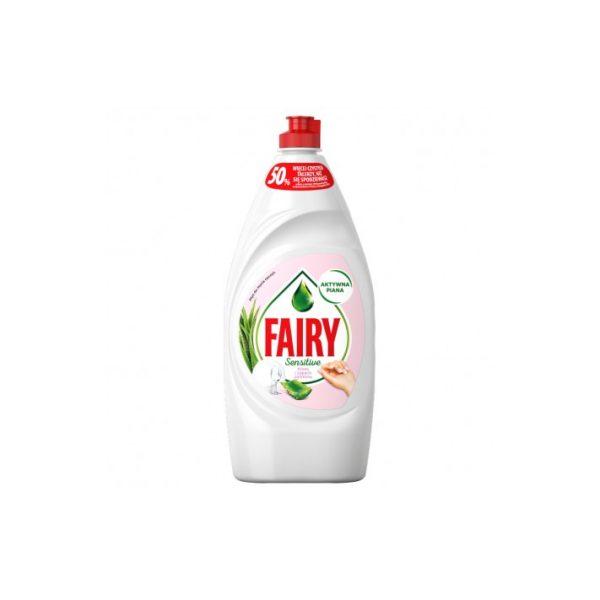 fairy plyn do mycia naczyn sensitive aloes i jasmin 900 ml