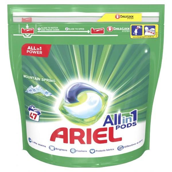 Ariel kapsulki do prania Mountain Spring 47 szt Marka Ariel Easy Resize.com 1
