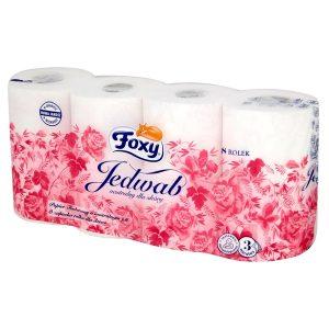 foxy jedwab papier toaletowy 8 rolek qhqki5 Easy Resize.com